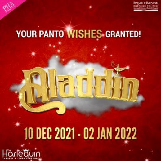 Aladdin Pantomime December 2021