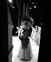 Photo taken from the wings