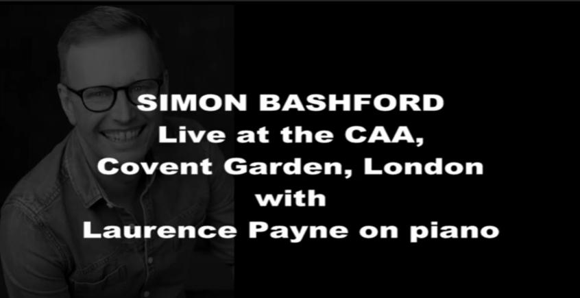 Simon Bashford at The CAA Covent Garden